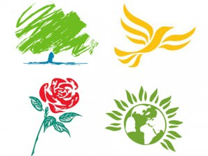 political parties logos